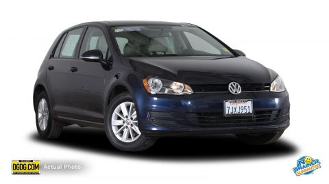 Certified Used Volkswagen Golf TSI S 4-Door