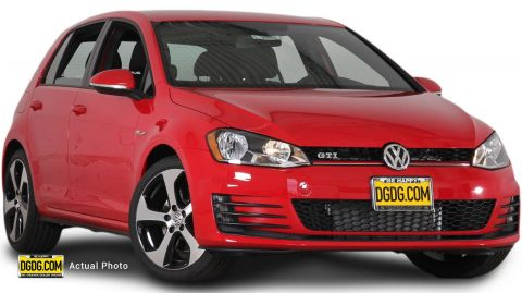 New Volkswagen Golf GTI S