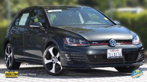 Certified Pre-Owned 2015 Volkswagen Golf GTI 2.0T SE