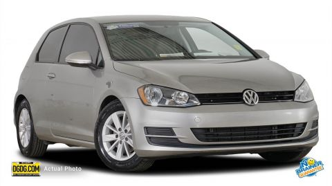 Certified Used Volkswagen Golf TSI S 2-Door