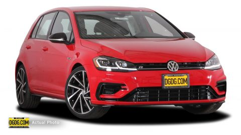 New 2018 Volkswagen Golf R