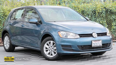 Certified Pre-Owned 2017 Volkswagen Golf TSI S 4-Door
